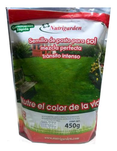 semilla de pasto para sol, pasto tránsito intenso rinde 20m2