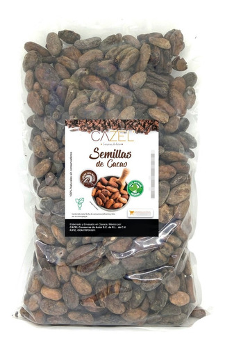 semilla grano de cacao oaxaca fermentado criollo oax 1kg