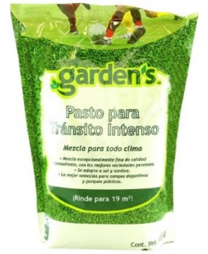 semilla pasto jardines tránsito intenso 450g