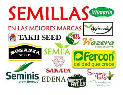 semillas certificadas importadas