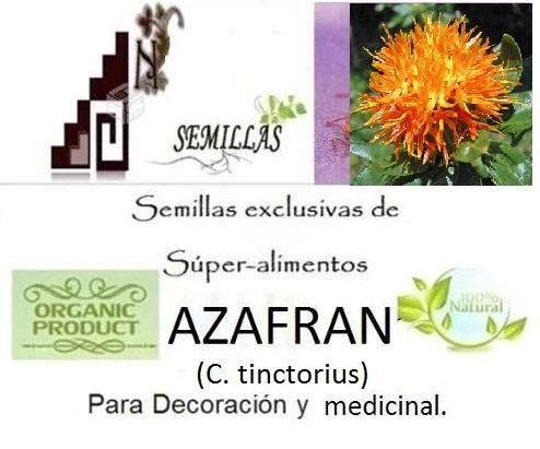 semillas de azafrán+ libro + envió gratis