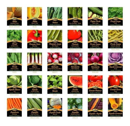 semillas de pimiento 0,50g x sobre la germinadora hortalizas
