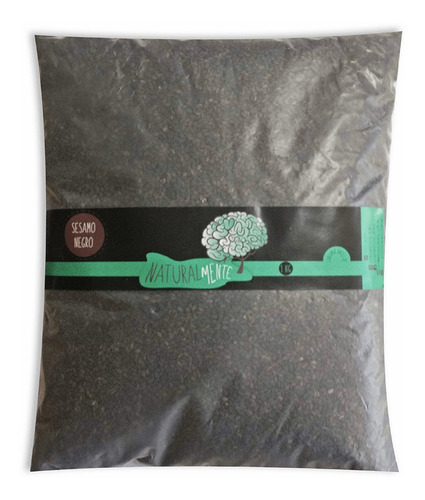 semillas de sesamo negro 1 kg