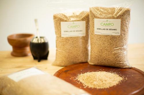 semillas de sésamo x 1 kg - envios