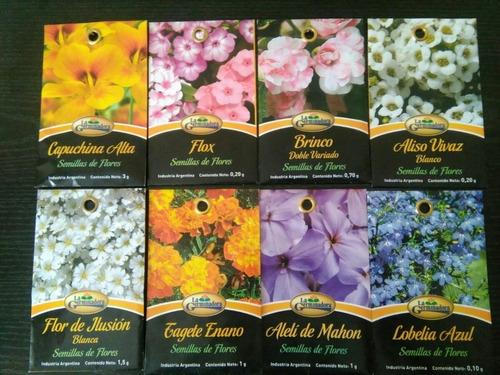 semillas de tagete gigante 1g x sobre la germinadora flores