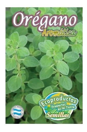 semillas oregano ecoproductos