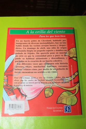 semillas   paul  fleischman  libro didactico