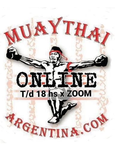 seminario clases online muaythai y entrenamiento funcional