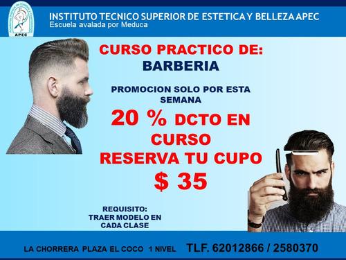 seminario de barberia