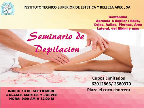 seminario de depilacion