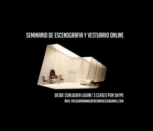 seminario online de escenografia y vestuario
