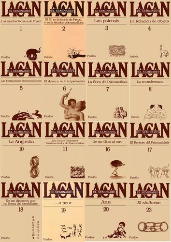 seminarios lacan - 16 tomos - paidos