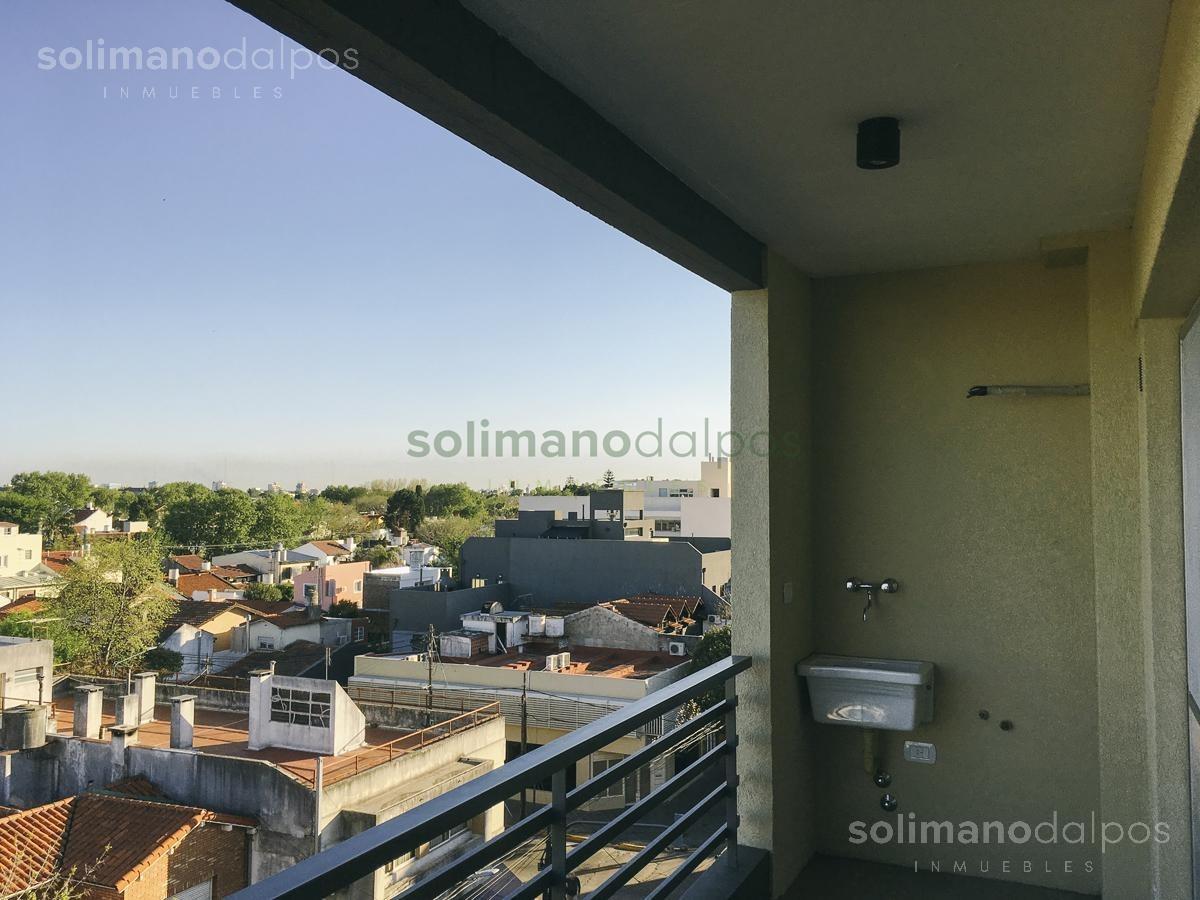 semipiso 2 amb con balcon a estrenar - olivos