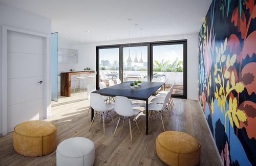semipiso 3 ambientes con balcón terraza