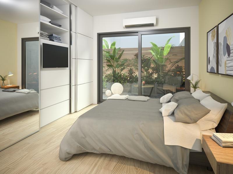 semipiso 3 ambientes con balcón terraza y patio