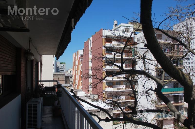 semipiso 4 ambientes balcón y cochera - villa del parque
