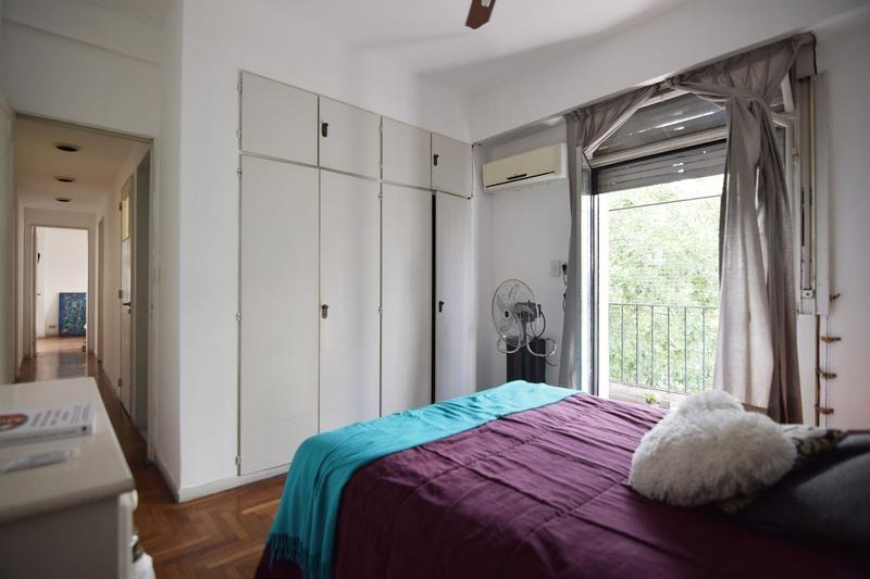 semipiso de 4 ambientes - dependencia - frente - balcón - belgrano