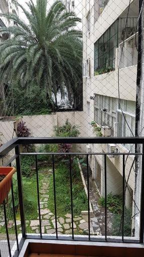 semipiso de 4 ambientes en palermo con balcón