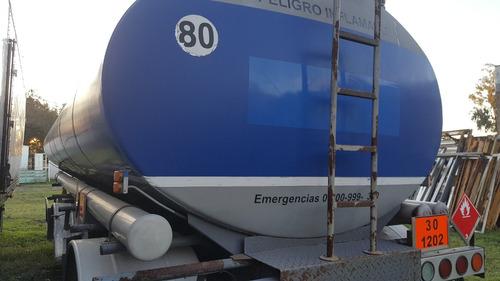semiremolque 33000 lts 3 cisternas astivia carga ventral