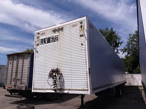 semiremolque furgon paquetero usado 2+1 montenegro financio