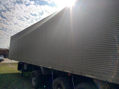 semiremolque furgon paquetero usado 2+1 randon financio ..!!