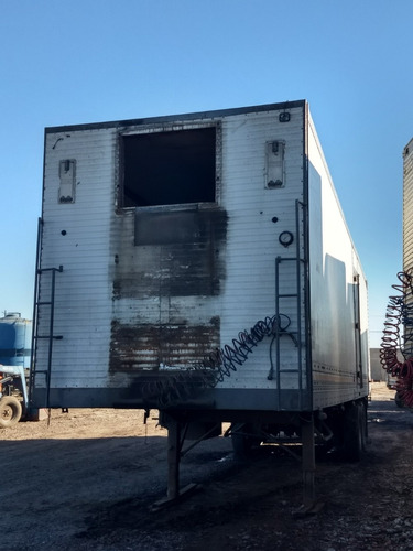 semiremolque furgon térmico 2 ejes p. anticipo