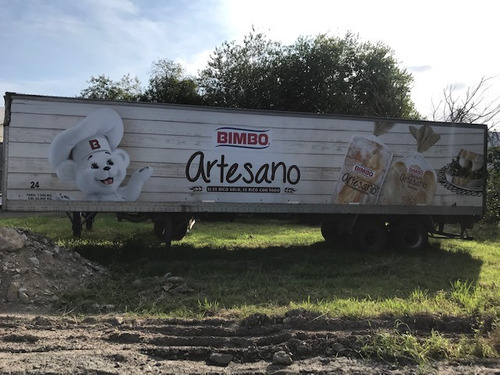 semiremolque furgon termico bonano paquetero financio