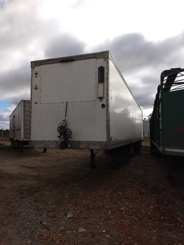 semiremolque furgon termico bonano precio anticipo financio