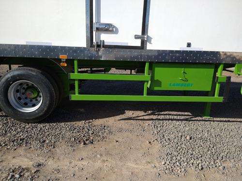 semiremolque furgon termico lambert pcio anticipo okm