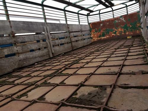 semiremolque jaula de hacienda