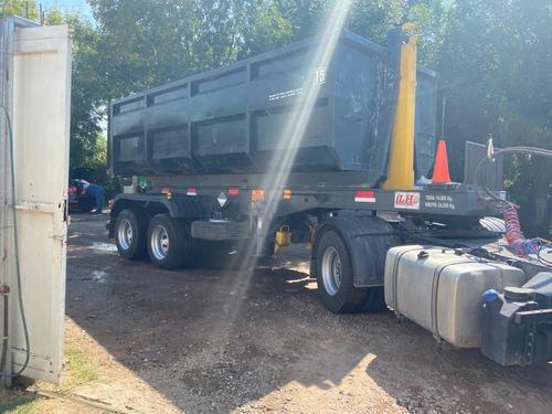 semiremolques/ roll-off/ camion/ equipo/ capacidad 20.5 tn