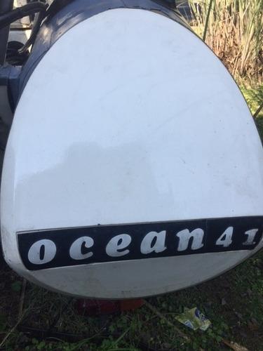 semirigido hypalon callegari ocean 41 suzuki 40hp