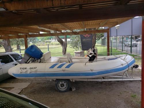 semirigido sail master 2000 5 metros trailer nautica
