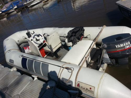 semirigido sail nautic 30hp