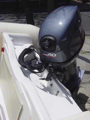 semirigidos kiel 4,60 premium con yamaha 40 2t power trim