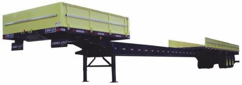 semirreboque carga aberta extensiva 3 eixos