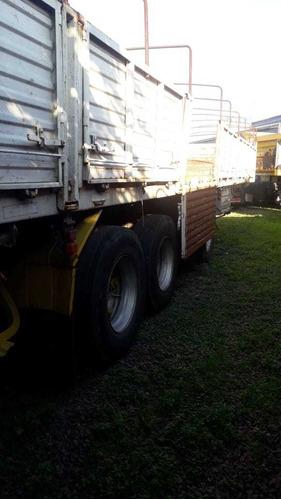 semirremolque barandas volcables 13.50  financ s/int - 815