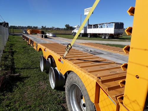 semirremolque carga todo plano  2018 sin rodar ant.+ financ.