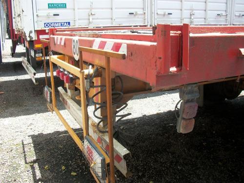 semirremolque cm 3 ejes 15,50m extendible a 17m.