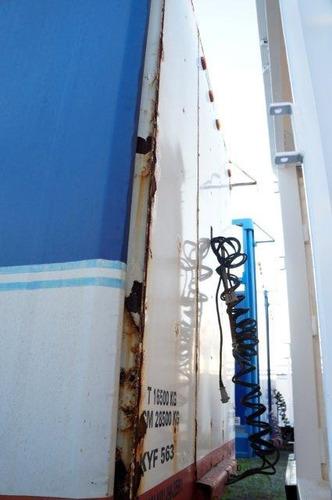 semirremolque curtain sider - marca salto - 708