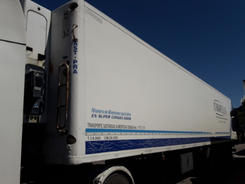 semirremolque  furgon termico ast-pra  usado 2004