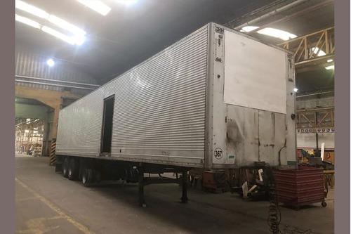 semirremolque furgon térmico astivia 2010 - anticipo