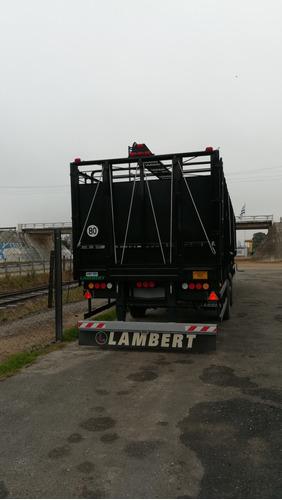 semirremolque jaula de 15,80 mts.- nueva - entrega inmediata