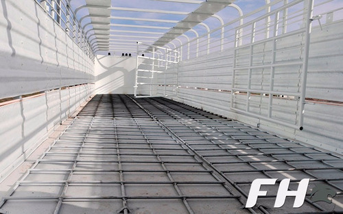 semirremolque jaula de ganado zorra doble piso