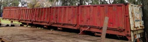 semirremolque montenegro 3 ejes juntos 12,50 modelo 1980