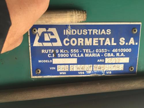 semirremolque sider 2+1 14.50 impecable (cormetal)