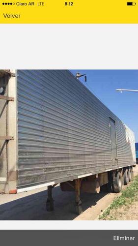 semirremolque termico astivia 96 2+1 26 pallets con equipo -