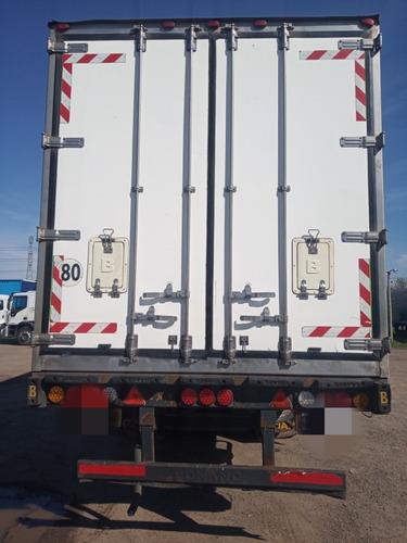 semirremolque termico bonano 2+1 2012 c/ equipo de frio