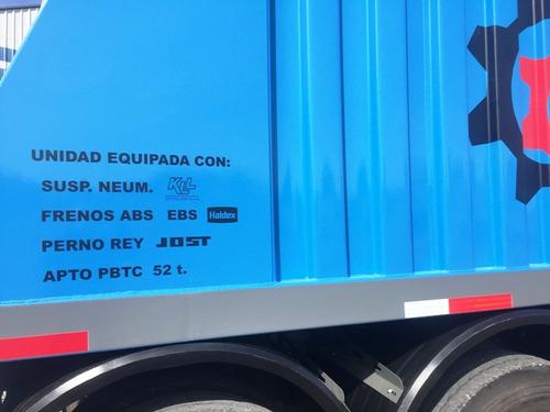 semirremolque tolva, aiello 52.5 toneladas