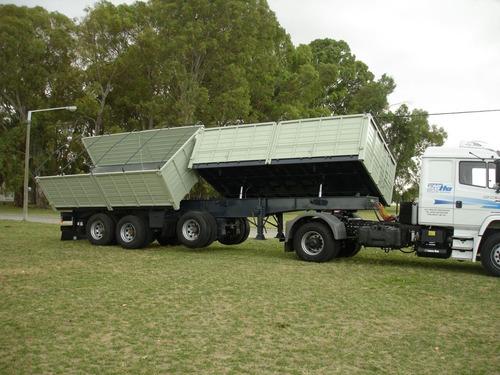 semirremolque vuelco bilateral  stoessel tara desde 7200kg